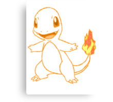Charmander Canvas Print