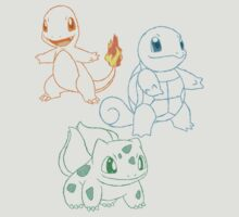 Starter Pokemon by Keelin  Small