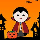 Halloween Cute Dracula by arlain
