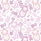 Cute baby girl pattern by oksancia