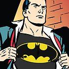 Superman x Bruce Wayne by Conroy Lex