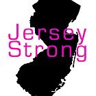 Jersey Strong (Lady Style) by Scott Dovey