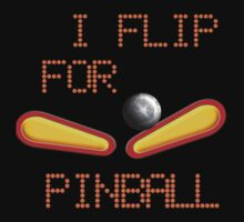 """Cold weather wear """"I FLIP FOR PINBALL"""" by Sharon Murphy"""