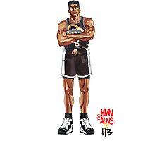 Slam Dunk Takenori x HMN ALNS Photographic Print