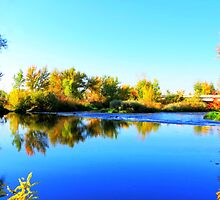 Boise River in Star Idaho by trueblvr