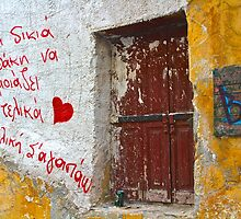 Universal Language, Athens Greece by Barbara  Brown