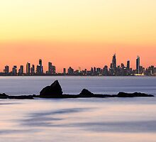 Surfers Paradise Sunset by Jacob Thirkettle