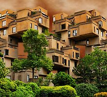 ๑۩۞۩๑HABITAT 67 MONTREAL ,CANADA,ARCHITECTURAL LANDMARK-VERSION TWO ๑۩۞۩๑ by ╰⊰✿ℒᵒᶹᵉ Bonita✿⊱╮ Lalonde✿⊱╮
