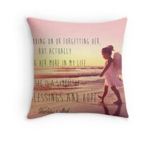 Lost For Words - January 2014 Throw Pillow