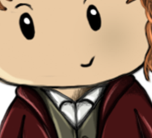 Bilbo   Martin Freeman [with text] Sticker