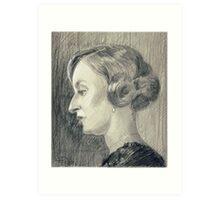 Lady Edith Crawley of Downton Abbey Art Print