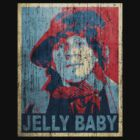 The Fourth Doctor - Doctor Who - Tom Baker - Shepard Fairey (Distressed) by James Ferguson - Darkinc1