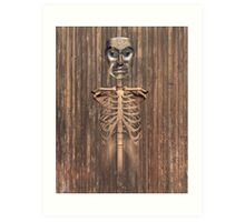 wood bruxo Art Print