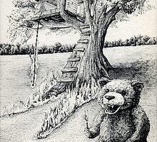 Bernard the Bear by MunnsBunns