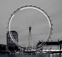 London Eye by dogboxphoto