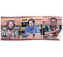 Lebowski Triptych Poster