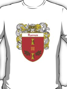 Ramos Coat of Arms/Family Crest T-Shirt