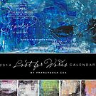 Cover for Lost for Words 2014 Calendar by Franchesca Cox
