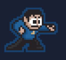 8-Bit Mr. Spock  by justinglen75