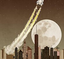 Rocket City by Wyattdesign