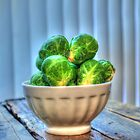 Brussels Sprouts II by Jimmy Ostgard