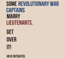 some revolutionary war captains marry lieutenants by SallySparrowFTW