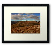 Croaghnageer from Croaghconnellagh Framed Print
