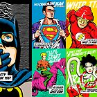 Post-Punk Super Friends Full Set 1 by butcherbilly