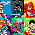 Post-Punk Super Friends Full Set 2 by butcherbilly