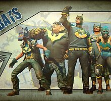 Gotham city impostors  by heby