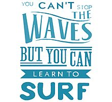 Learn to Surf Photographic Print