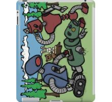 Teddy Bear And Bunny - Cannibals iPad Case/Skin