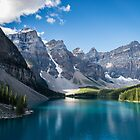 Moraine Lake by Pam Hogg