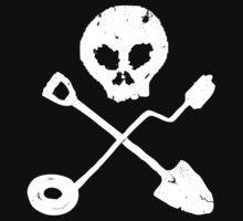 Detectorist Skull - Sondengaenger Schaedel  by Bela-Manson