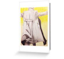 the reichenbach fall Greeting Card