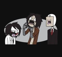 Creepypasta Funny Faces by Dethkira