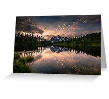 Picture Lake Awakening Greeting Card