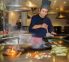 Teppanyaki by Karen Duffy
