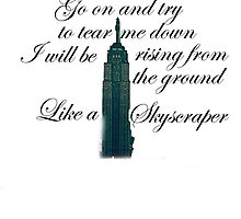 Like A Skyscraper by HopeWontFade