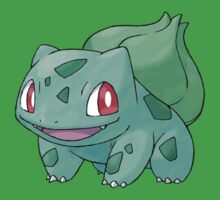 001 Bulbasaur by Artmaniac