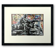 Street Art: global edition # 93 Framed Print