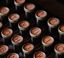 Typewriter  by jasondaley