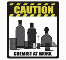 Caution - Chemist At Work by DarkNai