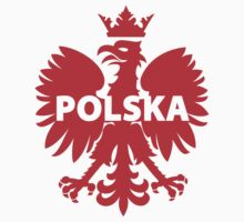 Poland Polska Crowned Eagle T-Shirt and Stickers by TropicalToad