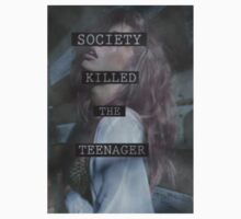 Society Killed the Teenager by melaniewoon
