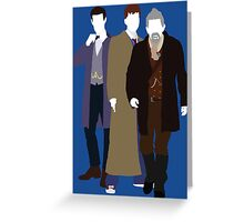 The Day of the Doctor - Doctor Who Greeting Card