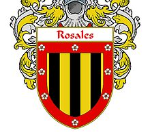 Rosales Coat of Arms/Family Crest by William Martin