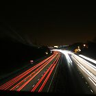 Busy Night on the Road by Abatashi