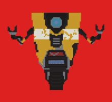 Claptrap 8 bit by kjwgaming
