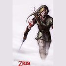 Zelda in the Mist White iPhone Case by TalkThatTalk